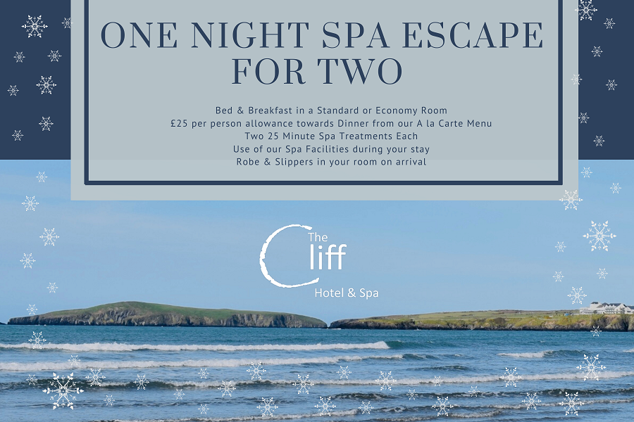 One Night Spa Escape For Two Christmas Gift