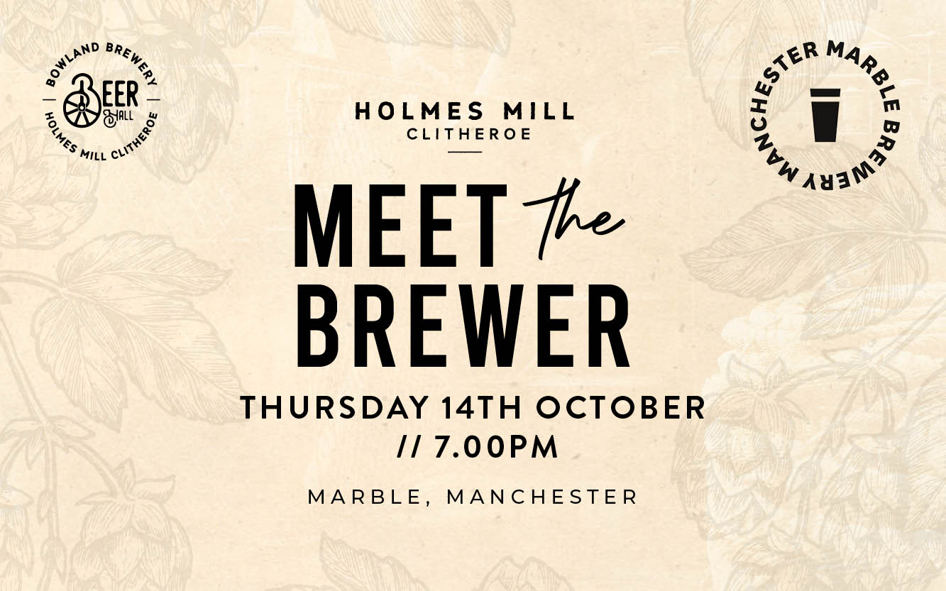Meet the Brewer - Marble Brewery Manchester