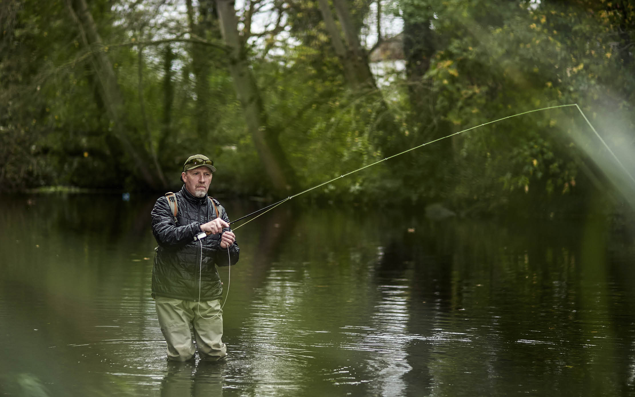 Fishing Break at Mitton Hall