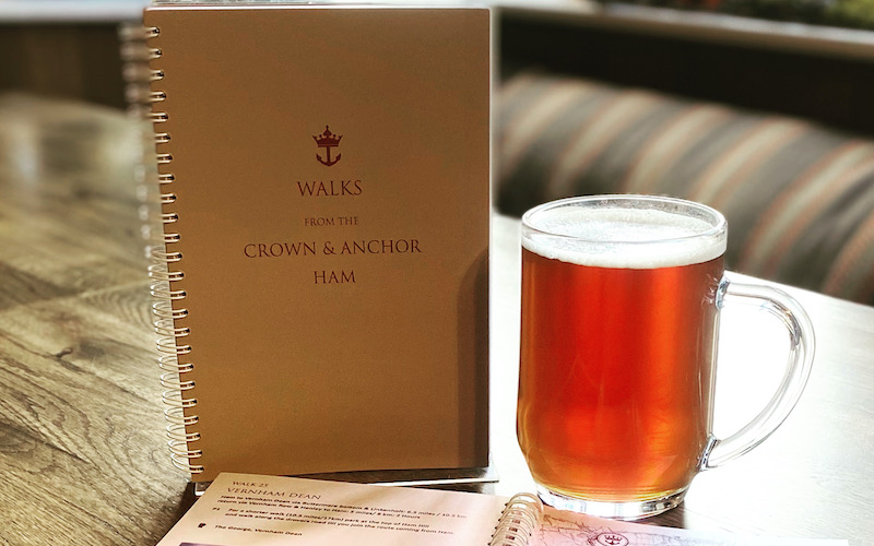 CROWN & ANCHOR WALKING BOOK